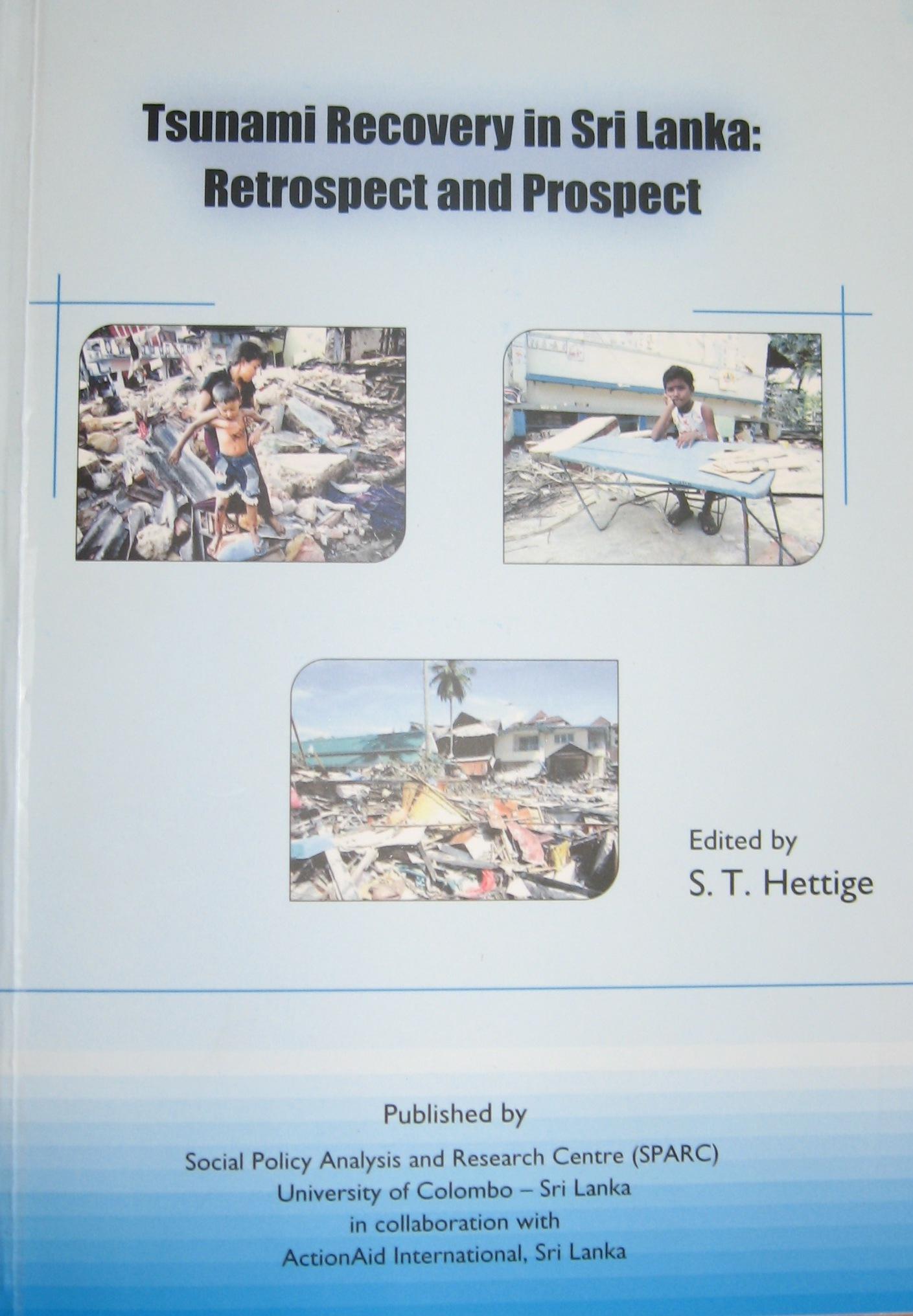 Tsunami Recovery in SL